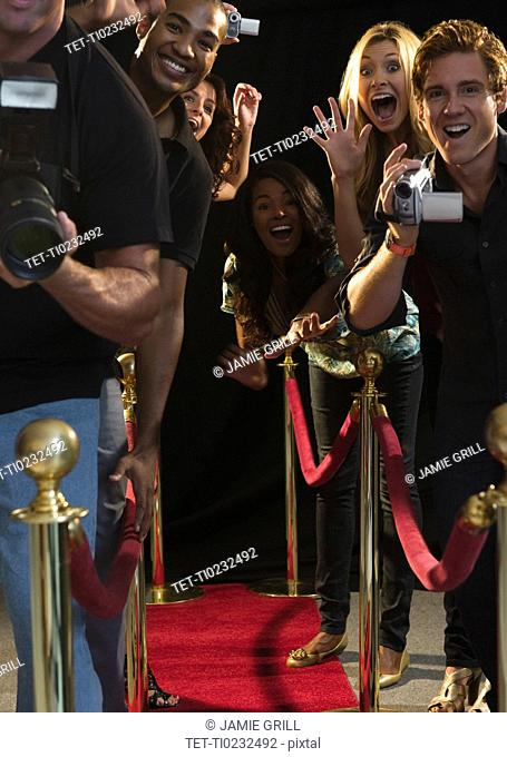 Paparazzi at red carpet event