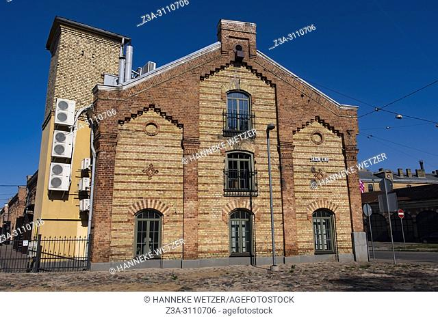 Spikeri cultural district in Riga, Latvia, Europe
