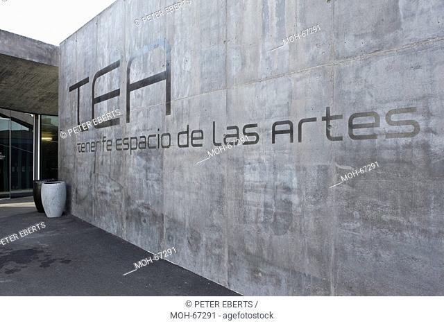 Tenerife Espacio de las Artes, Santa Cruz de Tenerife, Herzog & de Meuron. Das TEA erstreckt sich auf mehreren Ebenen über 20.600 Quadratmeter