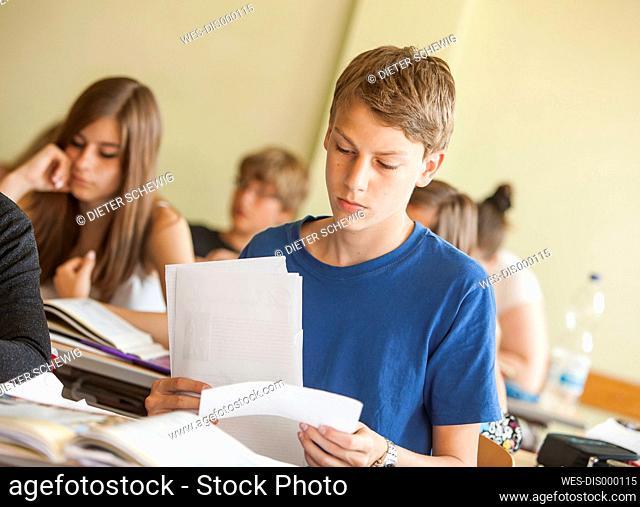 Austria, Students in class
