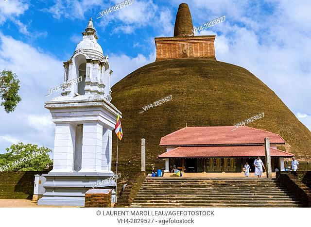 Abhayagiri Stupa, Sacred City of Anuradhapura, North Central Province, Sri Lanka, Asia