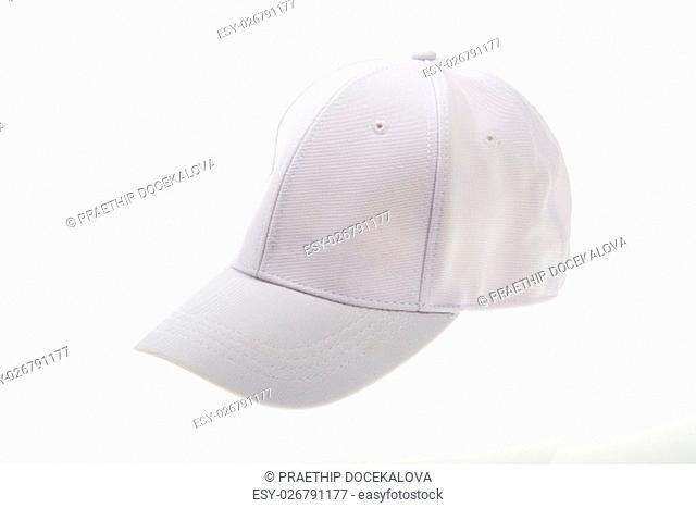 golf cap on white background
