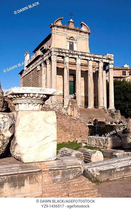 Santi Luca e Martina in the Forum, Rome  Originally commissioned in 625 AD by Pope Honorius, restored in 1256 during reign of Pope Alexander IV and rebuilt to...