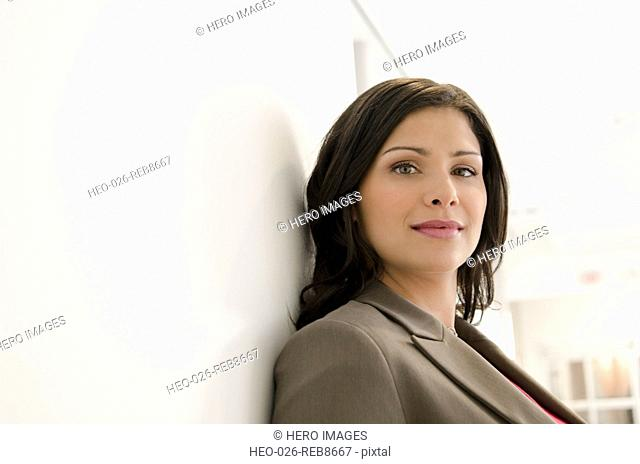 portrait of pretty businesswoman
