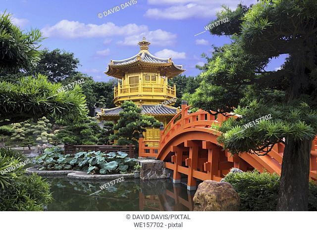 Pavilion Of Absolute Perfection In Nan Lian Garden, Chi Lin Nunnery, Hong Kong, China