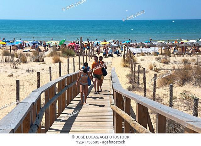 Natural Place Enebrales de Punta Umbria-beach, Huelva-province, Spain