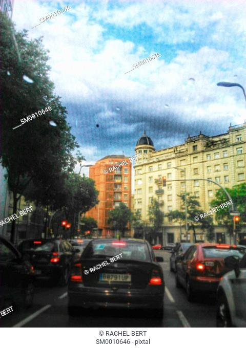 Urban Scene, Clot, Sant Martí, Barcelona, Catalonia