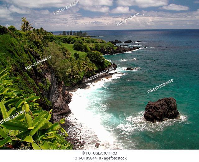 Hana Highway, Maui, HI, Hawaii, Hana Coast, Highway 360, East Maui, North Shore, Hamoa Beach