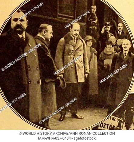 Count Károly Khuen-Héderváry de Hédervár, 23 May 1849, – 16 February 1918, Budapest, was a Hungarian politician; Ban of the Kingdom of Croatia-Slavonia in the...