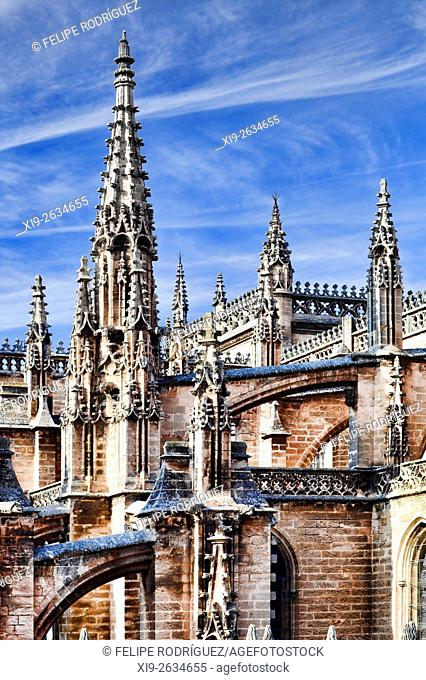 Dome of the Royal Chapel, Seville Cathedral, Spain