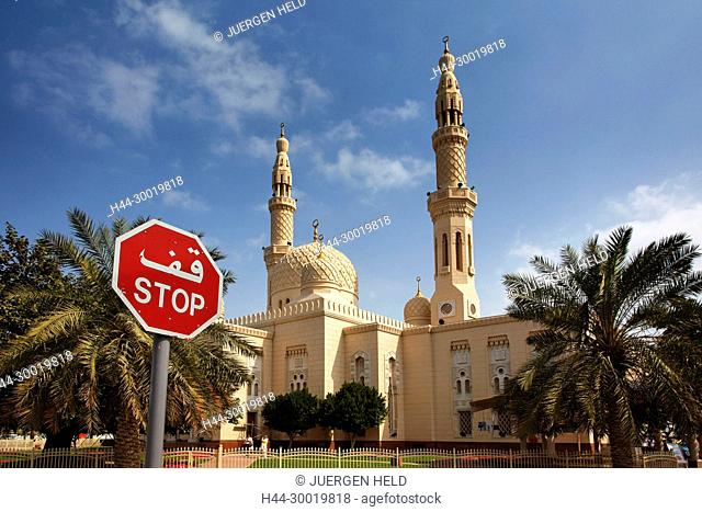 United Arab Emirates, Dubai, Jumeirah Mosque