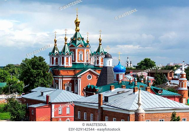 Cathedral of the Exaltation of the Holy Cross in Kolomna Kremlin, Russia
