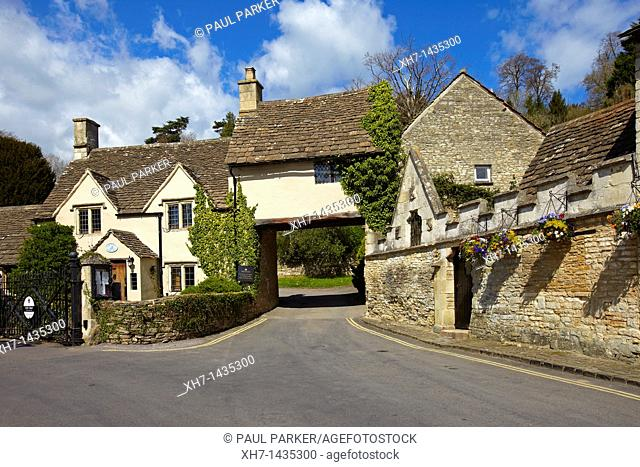 Castle Combe Village, England, UK