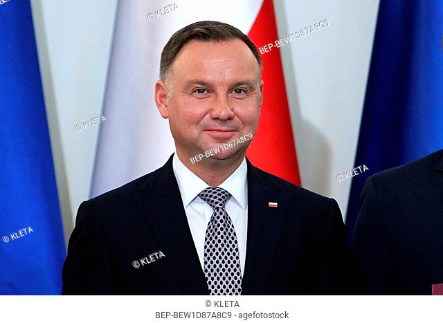 May 28, 2019 Warsaw, Poland. Pictured: Andrzej Duda