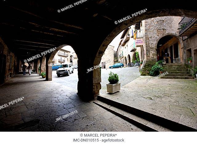 Spain, Catalonia, Comarca of Garrotxa, Santa Pau