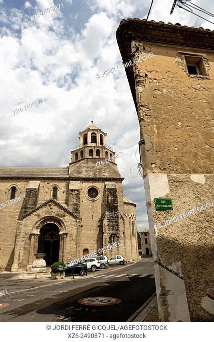 Church Notre-Dame du Lac, Le Thor, Vaucluse, 84, Provence-Alpes-Côte d'Azur, France, Europe