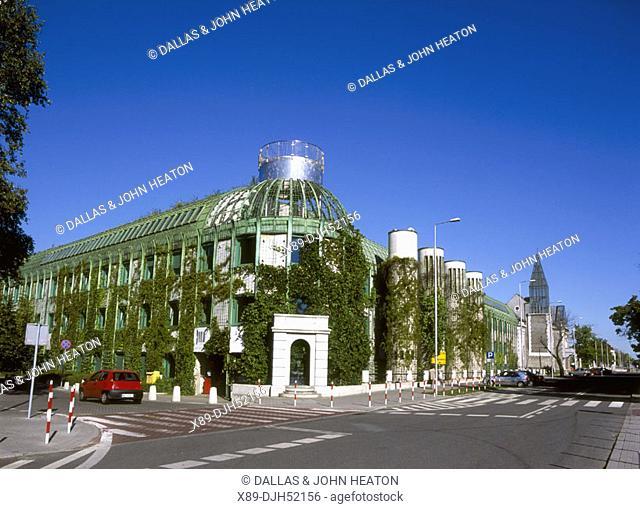 University Library, Bibliotheca, Warsaw, Poland