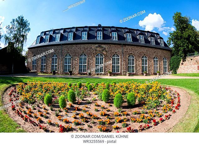 Orangerie im Lustgarten von Wernigerode