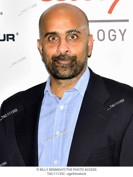Sab Singh arrives at the First Annual Sports Humanitarian of the Year Awards, Presented by ESPN and PlayStation
