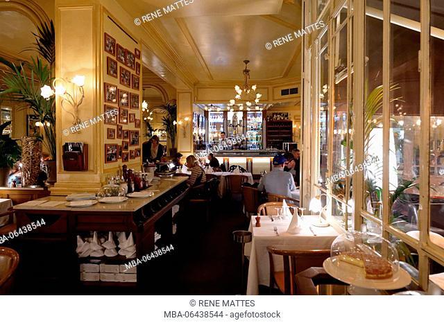 France, Herault, Montpellier, Brasserie du Theatre