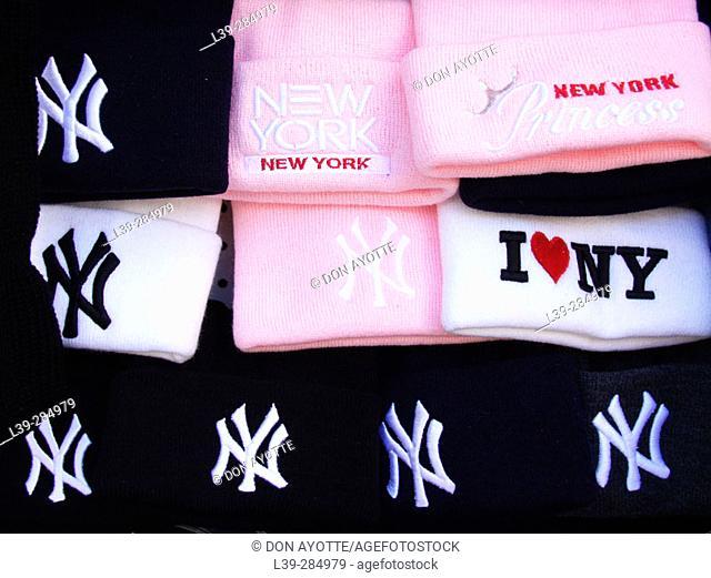 Hats at 5th Avenue, New York City. USA