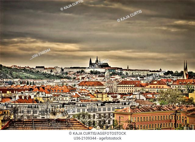 View of Hradcany, Prague, Czech Republic