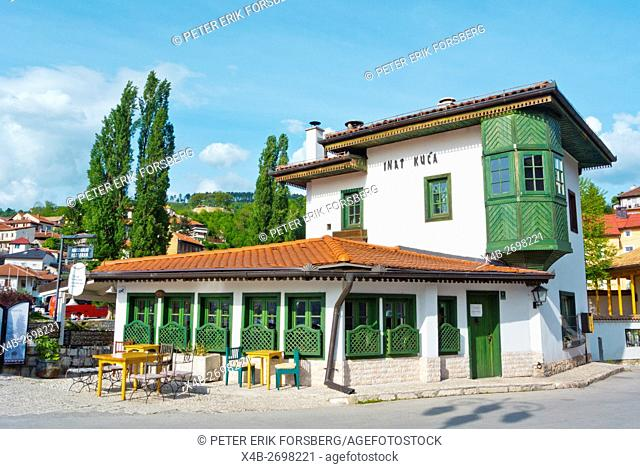 Inat kuca, restaurant, Sarajevo, Bosnia and Herzegovina, Europe