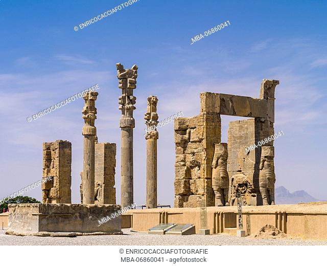 Persepolis, 'Gate of all Nations'