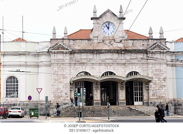 train station, Coimbra, Portugal