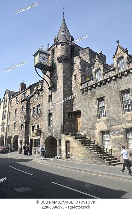The people story museum on Royal Mile in Edinburgh