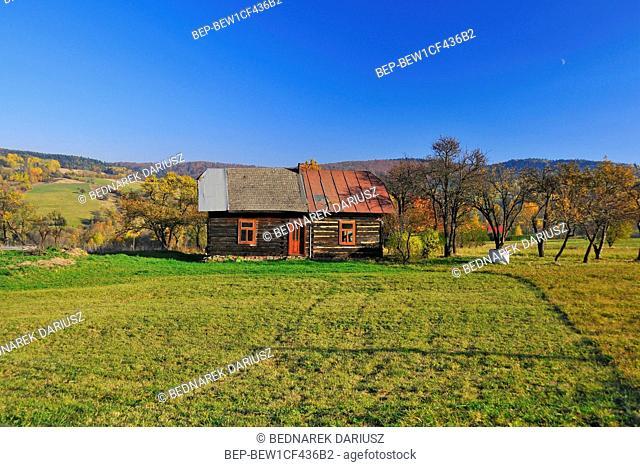 Bielanka village, Gorlice County, Lesser Poland Voivodeship