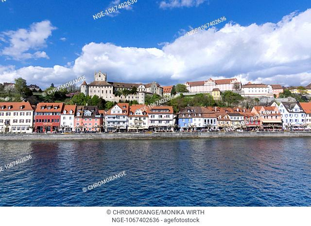 Meersburg, Lake Constance, Baden-Wuerttemberg, Germany, Europe