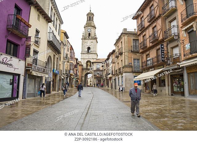 The main square or plaza mayor Toro city in Zamora province Castile Leon Spain