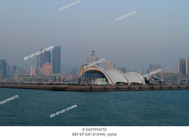 city view of Qingdao