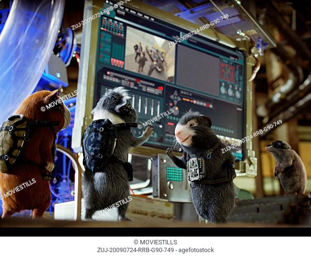 RELEASE DATE: July 24, 2009. MOVIE TITLE: G-Force. STUDIO: Walt Disney Pictures. PLOT: The story is about a team of trained secret agent guinea pigs that takes...