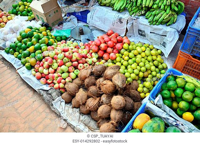 Greengrocery or Vegetables Fruit