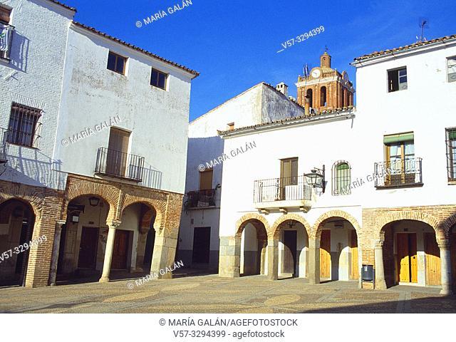 Plaza Chica. Zafra, Badajoz province, Extremadura, Spain