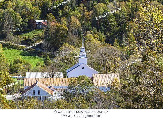 USA, New England, Vermont, East Topsham, autumn