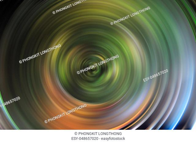 Abstract Soft and blurred of swirling action background concept