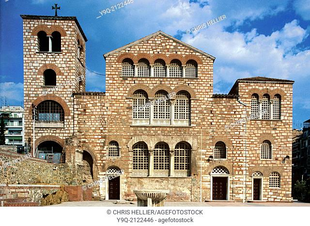 Byzantine Church of Saint Demetrios Thessaloniki Greece