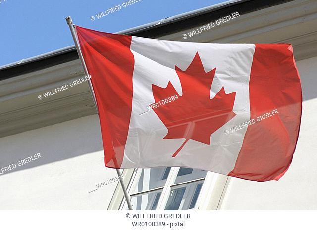 Canadian flag, Canada flag