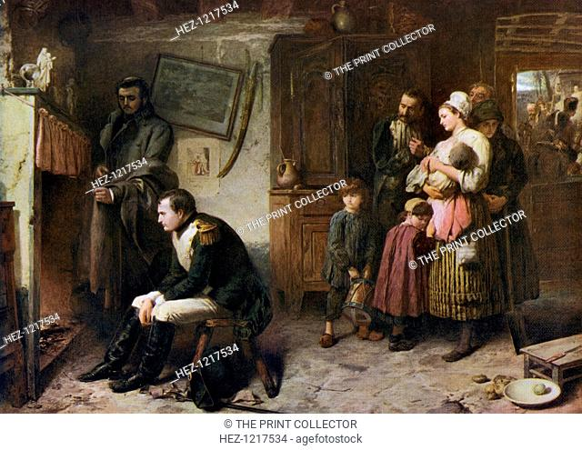 'On the Road from Waterloo to Paris', 1863, (1912). A colour print from Famous Paintings with an Introduction by Gilbert Chesterton, Cassell and Company, London