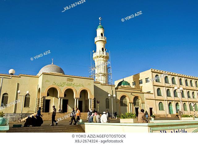 Mosque, Asmara, Eritrea
