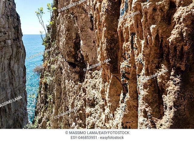 Grotta del Turco, Montagna Spaccata, Gaeta, Latina, Italy