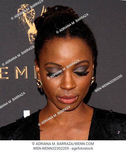 Television Academy 69th Emmy Performer Nominees Cocktail Reception held at the Wallis Annenberg Center for the Performing Arts - Arrivals Featuring: Shanola...