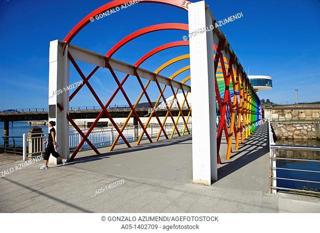 Oscar Niemeyer Cultural Center, Aviles, Asturias, Spain