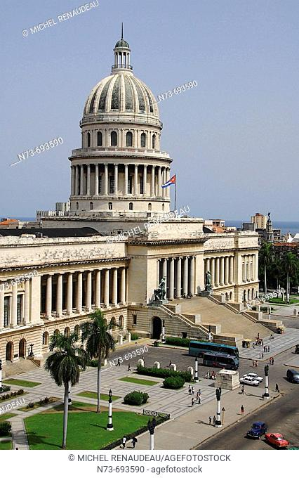 Capitol building, Havana. Cuba