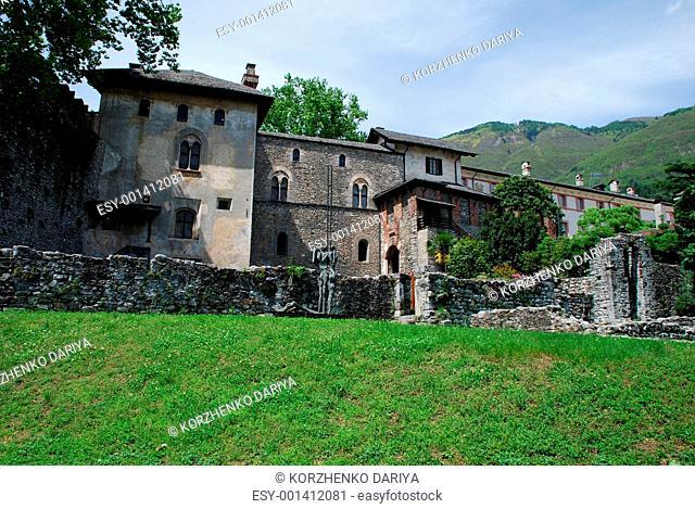 Castello Visconteo in Locarno, Ruines part