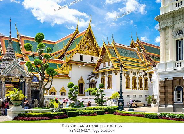 Phra Thinang Chakri Maha Prasat throne hall, Grand Palace complex, Bangkok, Thailand