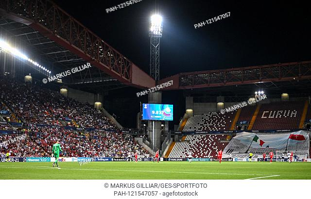 Overview, feature, decorative picture. GES / Football / U21 Euro: Germany - Serbia, 20.06.2019 Football / Soccer: Euro Under 21: Germany vs Serbia, Trieste